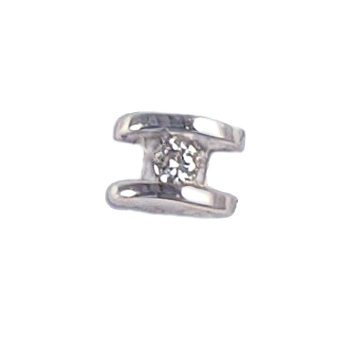Pendientes mini oro 18 kt diamantes