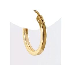 Pendientes oro blanco 750 mm